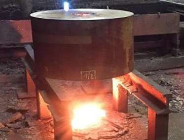 thick flame cutting